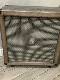 At.as 4x12 Custom Cabinet Loaded With Webber speakers for Sale in Miami,  FL