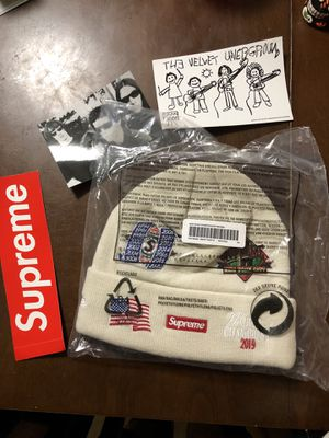 Supreme sold out beanie for Sale in Houston, TX