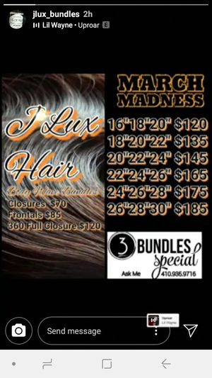 Jlux bundles for Sale in Baltimore, MD