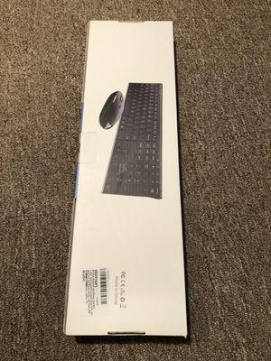 Rechargeable Wireless Keyboard & Mouse; Vssoplor 2.4GHz for Sale in Denver, CO