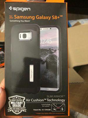 Brand new spigen phone case samsung galaxy s8+ plus shockproof slim armor for Sale in Davie, FL