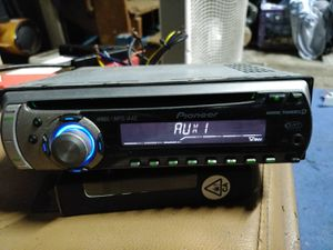 Pioneer DEH-P3900MP CD receiver with MP3/WMA/AAC playback And Auxiliary for Sale in Indianapolis, IN
