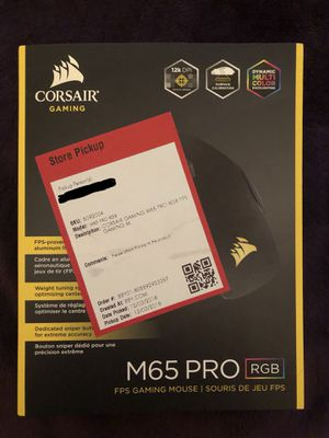 Corsair M65 PRO RGB Gaming Mouse for Sale in Metairie, LA