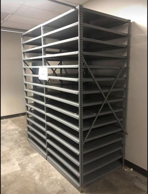 "Metal 4-Section Industrial Shelving 148"" X 36"" X 87""H 6-shelf Warehouse Storage Racks for Sale in Artesia, CA"
