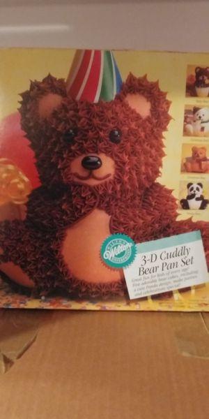 3D Teddy Bear Cake Pan Set for Sale in Gainesville, VA