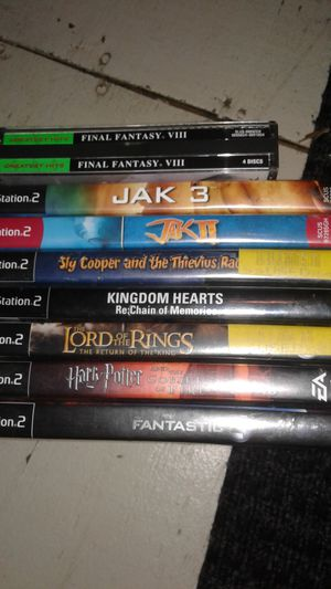 Ps2 collection for Sale in Lilburn, GA