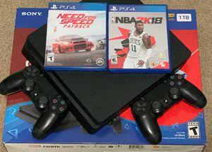 PS4 1TB 2 Controllers (Read Description) for Sale in Perry, MI