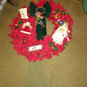 Hand Made Holiday Wreath for Sale in Niagara Falls, NY