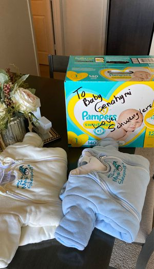 baby gear and diapers for Sale in Aurora, CO