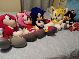 Sonic collectable plushies for Sale in Paterson, NJ