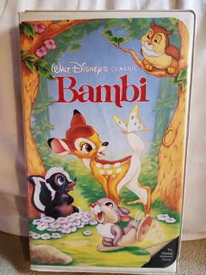 Disney's, BAMBI. VHS for Sale in Washington, PA