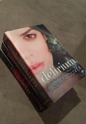 Delirium Series by Lauren Oliver for Sale in Delaware, OH