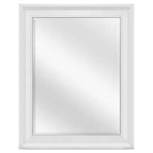 "Mainstays Beveled Wall Mirror, 23"" x 29"", white 31b for Sale in Norcross, GA"