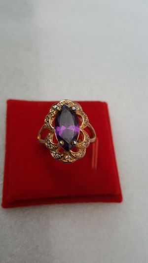 24k gold filled ring size 8 for Sale in Staten Island, NY