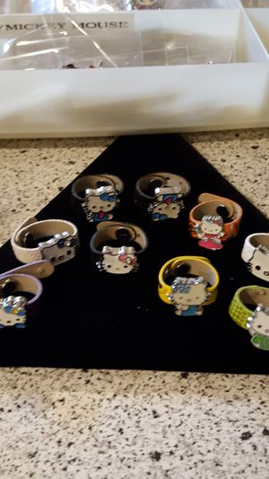 Hello Kitty adjustable rings for Sale in Southgate, MI