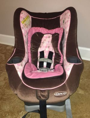 Chocolate Brown & Pink Graco My Ride 65 Convertible Car Seat for Sale in Snellville, GA