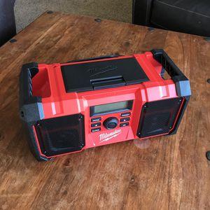Milwaukee M18 Cordless Jobsite Radio for Sale in Tacoma, WA