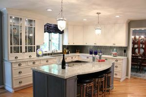 Kitchen Solid Wood Cabinet/Quartz Counter tops /Wood Flooring Wholesale Center for Sale in Los Angeles, CA