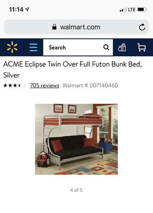 Eclipse bunk bed for Sale in Pittsburgh, PA