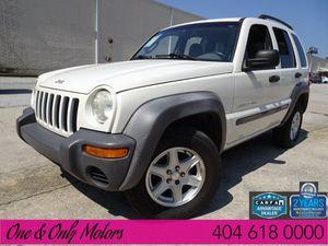 2002 Jeep Liberty for Sale in Atlanta, GA