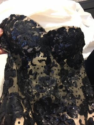 Black prom dress for Sale in Beaumont, CA