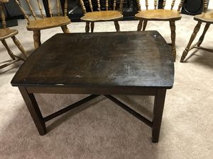 Coffee table - wood for Sale in Boston, MA