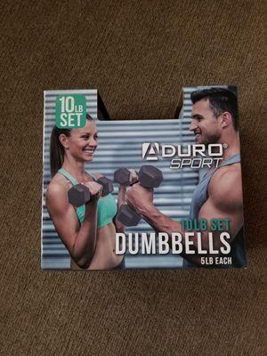 ADURO 10lb Dumbbell Set for Sale in Grand Rapids, MI