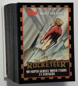 1991 Rocketeer Cards Complete Set Topps for Sale in Tacoma,  WA