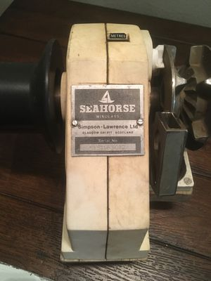 Vintage Seahorse windlass $125or best offer for Sale in St. Petersburg, FL
