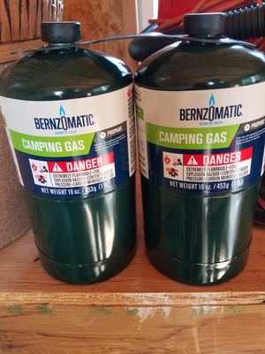 2 - NEW 16 oz. Propane bottles for Sale in Richland, WA