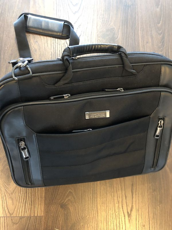 Kenneth Cole: Briefcase and Laptop Backpack (Black)