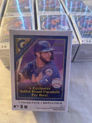 2020 Topps Gallery MLB Blaster Box for Sale in San Diego, CA