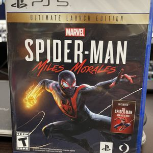 Spiderman Miles Morales Ps5 Games Playstation 5 for Sale in Hialeah, FL