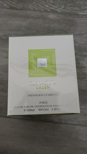 Merazur Green 3.4 oz perfume for Sale in San Diego, CA