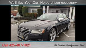 2016 Audi S8 4.0T quattro for Sale in Woodinville, WA