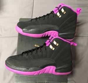 Nike Air Jordan XII 12 Retro Hyper Violet 5y 6y 6.5y Basketball shoes NEW DS! for Sale in San Diego, CA