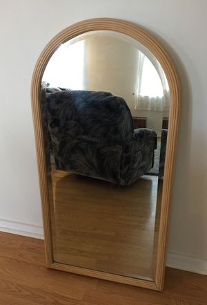 Wooden framed mirror for Sale in Kaneohe, HI