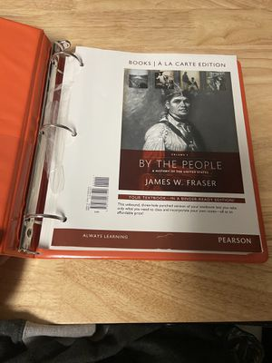 BY THE PEOPLE, A HISTORY OF THE UNITED STATES. for Sale in Visalia, CA