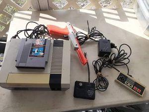 Nintendo nes 001 with super Mario/duck hunt for Sale in Fort Meade, FL
