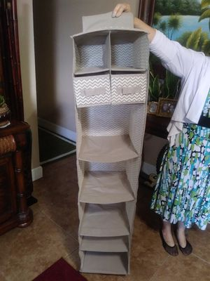 $10 ~ Hanging Closet Storage Organizer with Two Drawers for Sale in Homestead, FL