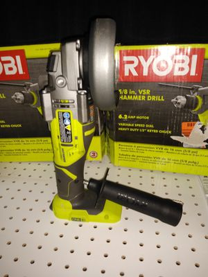 RYOBI 18-Volt ONE+ Cordless Brushless 4-1/2 in. Cut-Off Tool/Angle Grinder (Tool Only) for Sale in Temple, GA
