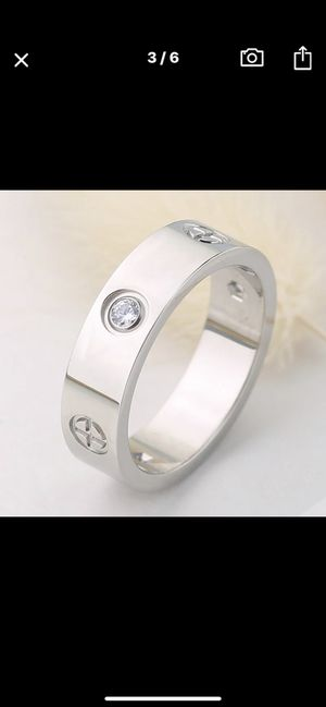 CATIER WEDDING BAND RING for Sale in St. Louis, MO