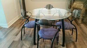 Contemporary table & chairs for Sale in Land O Lakes, FL