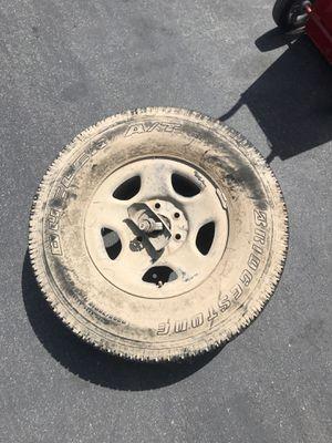 Chevy Silverado Spare Tire with Winch for Sale in Laguna Beach, CA