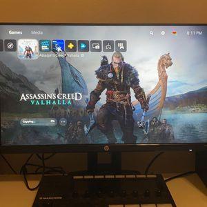HP 24inch Gaming Monitor 144 Hertz for Sale in Hayward, CA