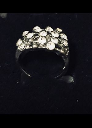 Silver Plated Ring Size 6 Gift boxed for Sale in Lowell, MA