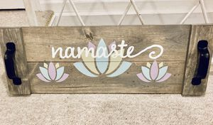 namaste' tray for Sale in Queens, NY
