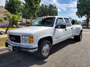 1998 GMC Sierra 3500 Dually Diesel! 4X2 for Sale in Norwalk, CA