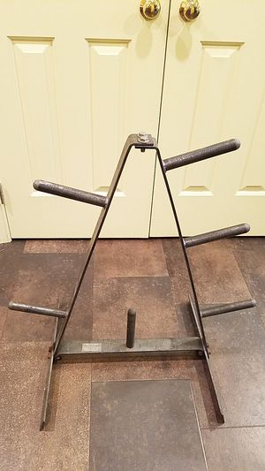 Weight Plate Tree Rack for Sale in Manheim, PA