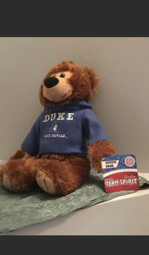 Duke Hoodie Teddy Bear for Sale in Fairfax, VA